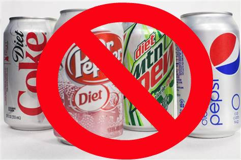 Las bebidas dietéticas no contienen azúcar, pero hacen engordar
