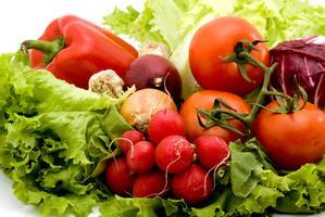 Verduras con bajo índice glucémico para perder peso